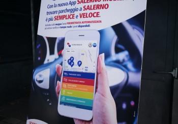 Presentata la nuova App Salerno Mobilità. Semplice, veloce e sempre aggiornata.