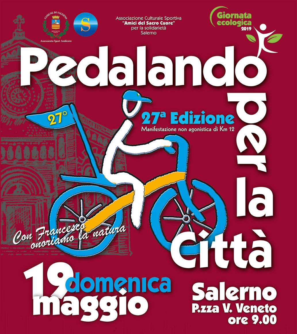 PEDALANDO PER LA CITTA - manifesto 2019